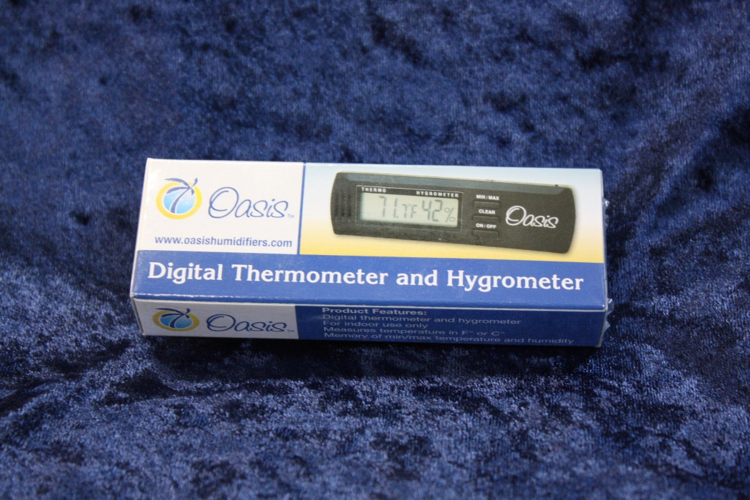 Oasis OH2 Digital Hygrometer//Thermometer for Guitars