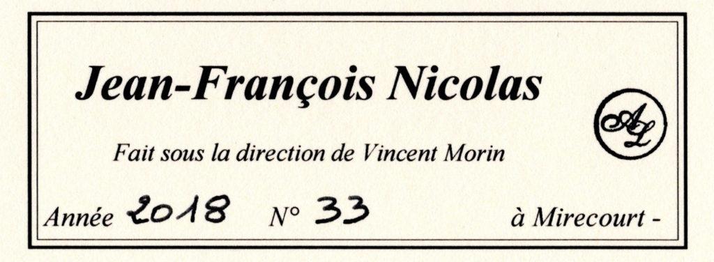 オベール・リューテリエ ジャン・フランソワ・ニコラス