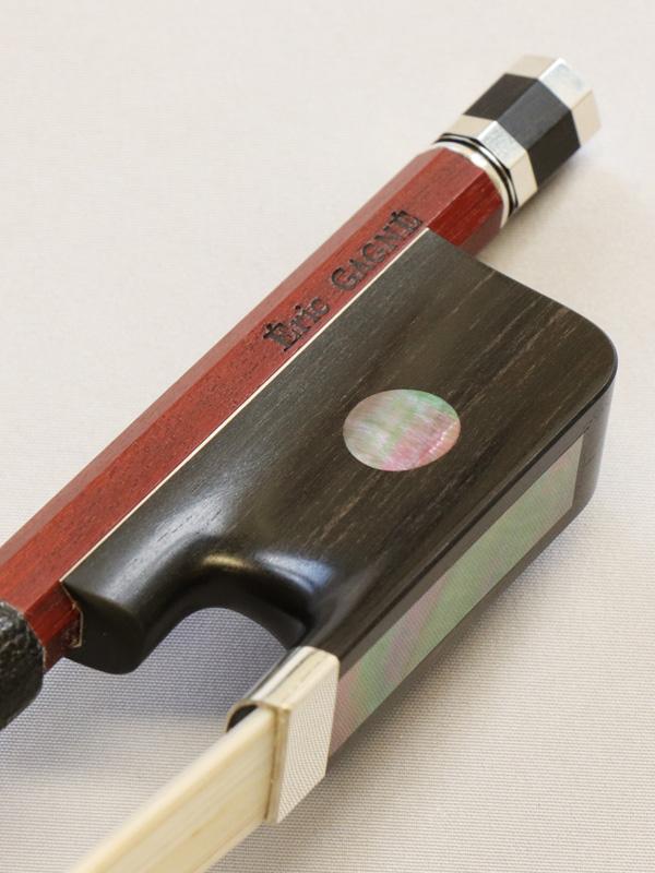 カナダの名工「エリック・ガニエ」のヴァイオリン弓とチェロ弓が入荷